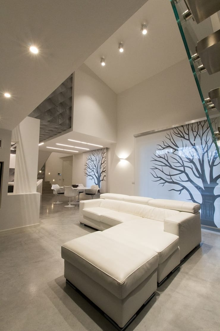 Living room by Fermox Solutions , Modern