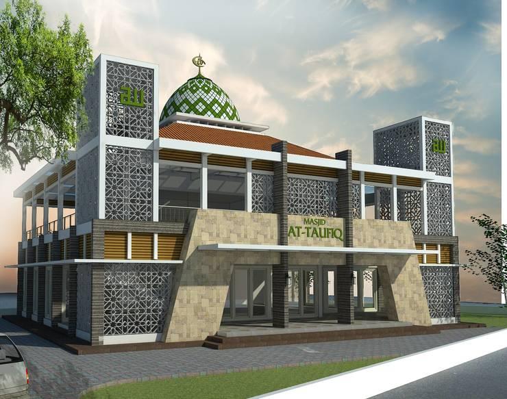 Masjid At-Taufiq Cikarang:   by Manasara Design&Build