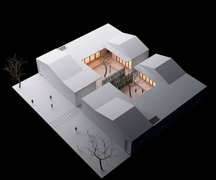 Casa rural : Casas prefabricadas de estilo  por Variable