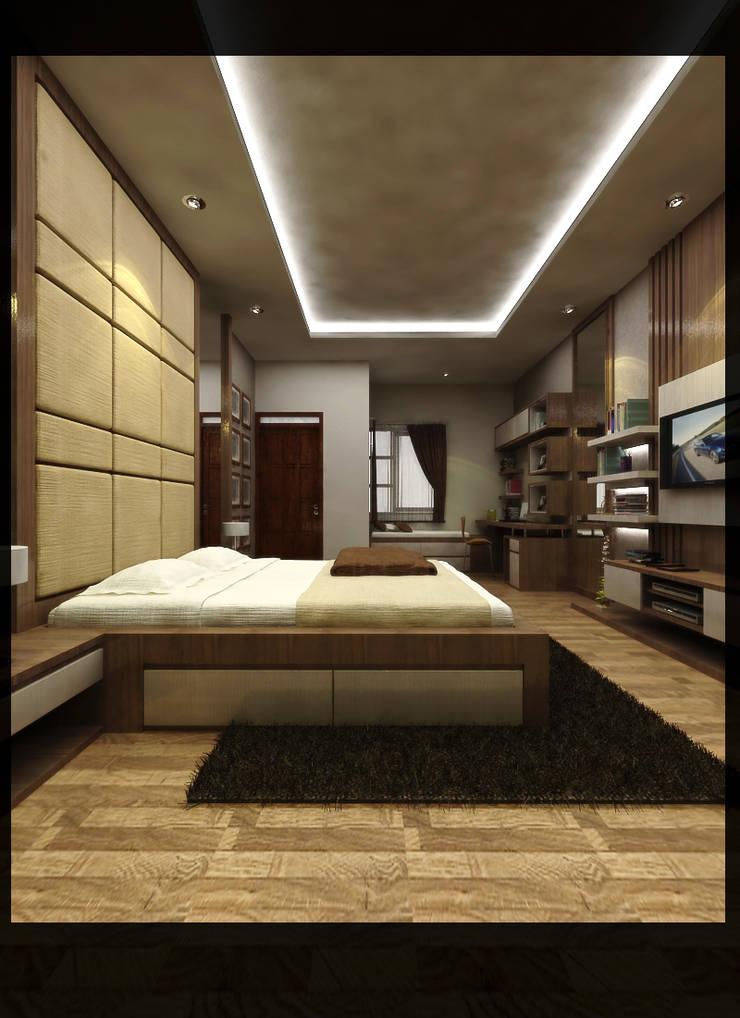 Interior Kamar Anak Bpk. Gunawan:  Kamar Tidur by SUKAM STUDIO