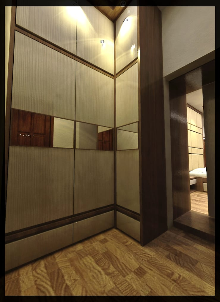 Interior Kamar Anak Bpk. Gunawan:  Ruang Ganti by SUKAM STUDIO