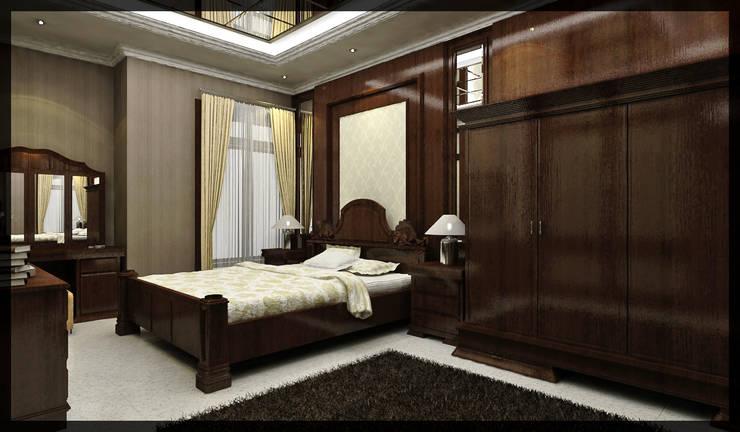 Interior Kamar Tidur Bpk. Soediro:  Kamar Tidur by SUKAM STUDIO
