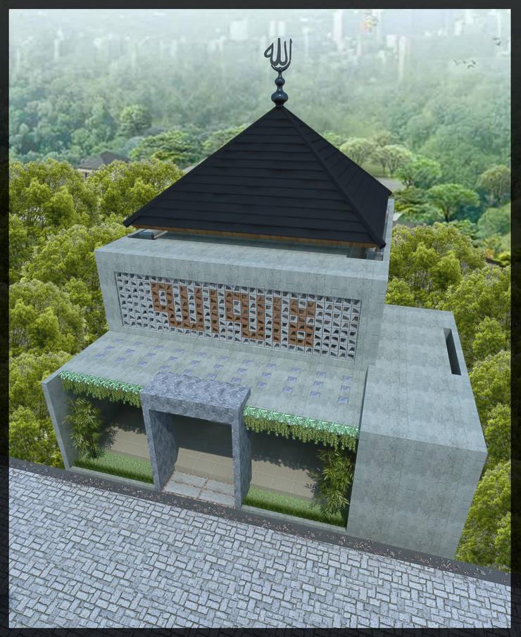 Masjid Perumahan Demak:  Rumah by SUKAM STUDIO