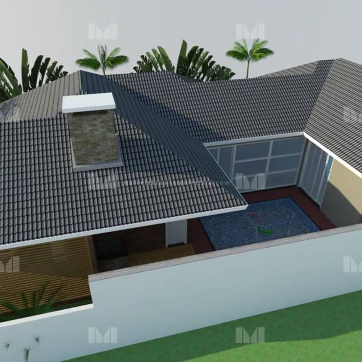 Roof by Marcelo Brasil Arquitetura