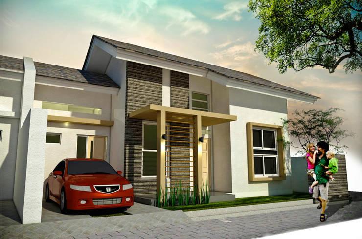 Bangetayu Residence:   by Manasara Design&Build