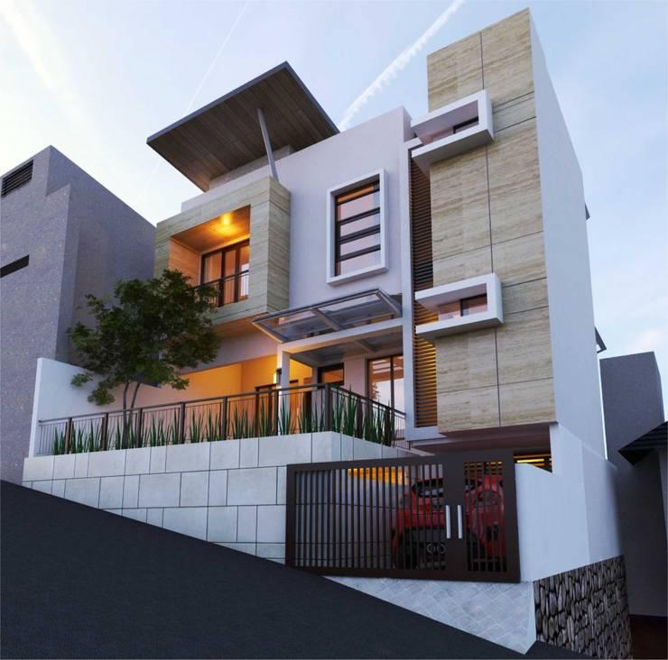 Rumah tinggal Jl. Bukit Ganda Semarang:   by Manasara Design&Build