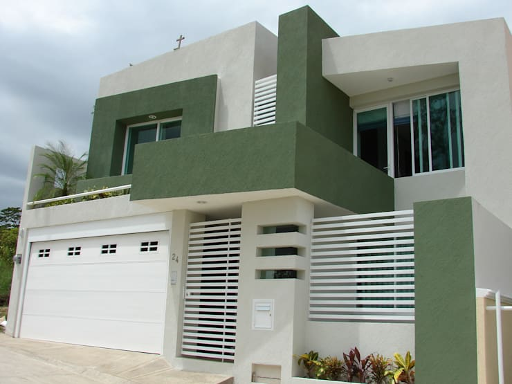 Proyectos....: Casas de estilo  por CouturierStudio