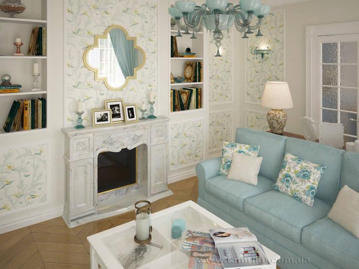 Phòng khách by Tamriko Interior Design Studio