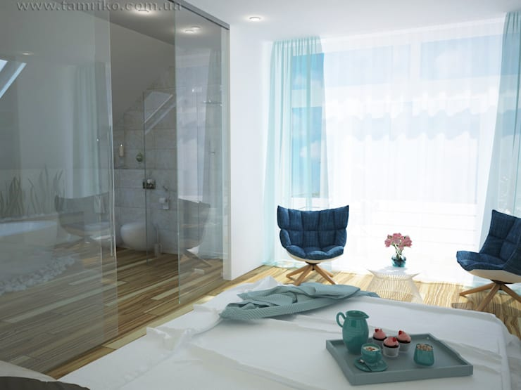 Minimalist Interior Design: minimalistic Bedroom by Tamriko Interior Design Studio