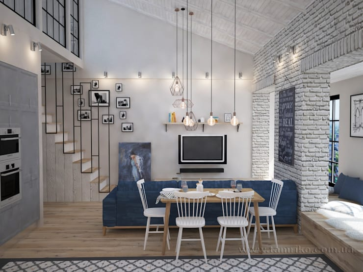 Loft Interior Design By Tamriko Interior Design Studio | Homify