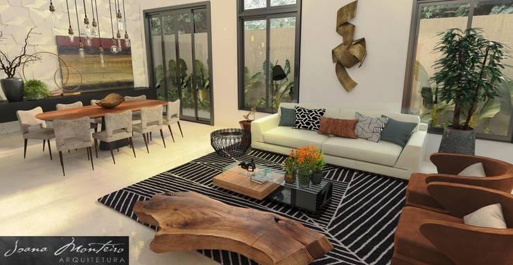 Decoração de Interiores: Salas de estar  por Arquiteta Joana Monteiro