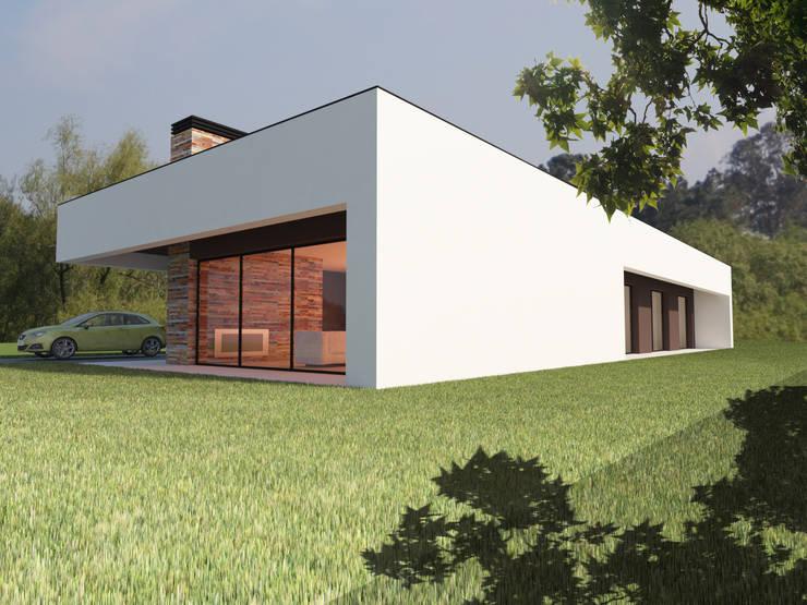 Modern houses by Pedro Palma Arquiteto Modern