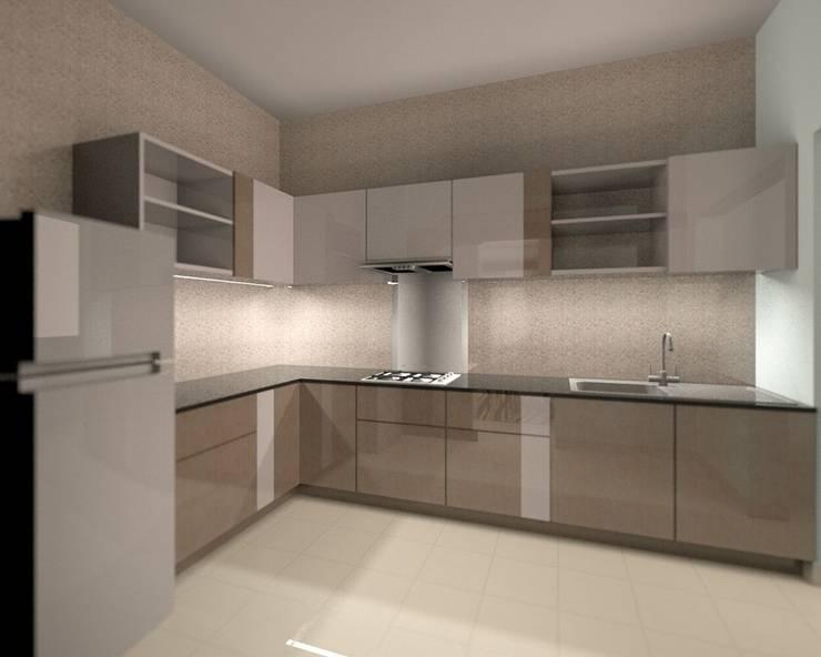 現代廚房設計點子、靈感&圖片 根據 BLUCAP LLP 現代風