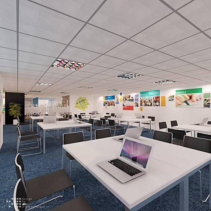 Học viện Thương hiệu và Truyền thông SAGE:  Tòa nhà văn phòng by Công ty Cổ phần truyền thông ATH Việt Nam