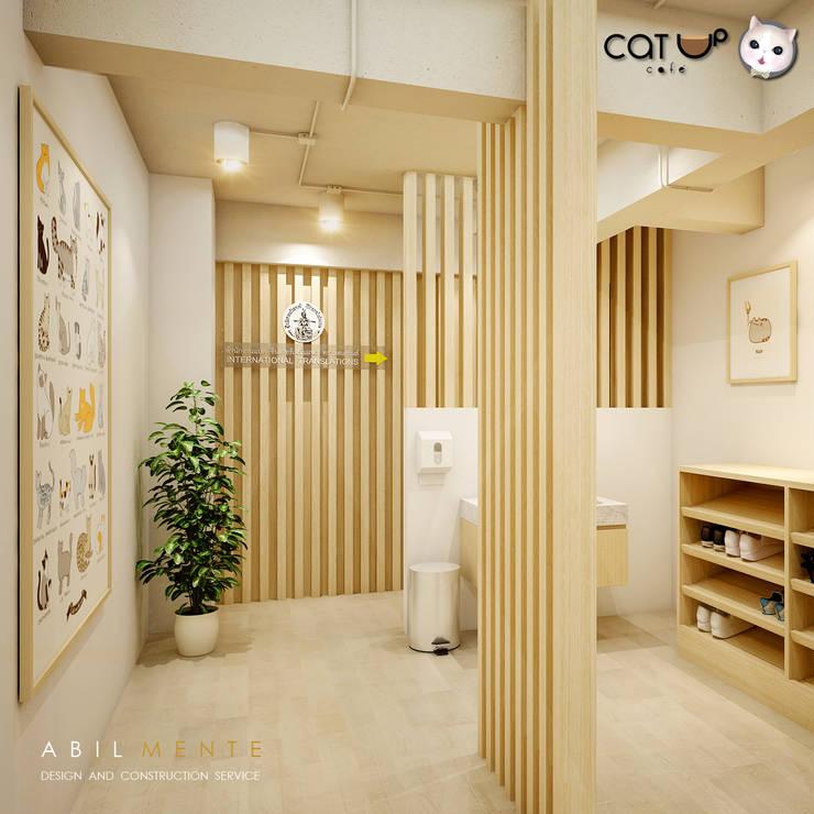 ห้องฆ่าเชื้อ ... พื้นที่สำหรับทำความสะอาด:  ร้านอาหาร by Abilmente Co.,Ltd