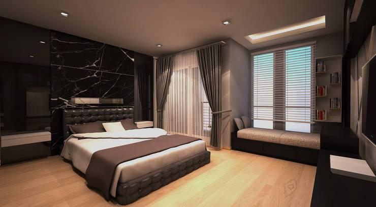 แบบinteriorบ้านและคอนโด modern:   by Designaholic