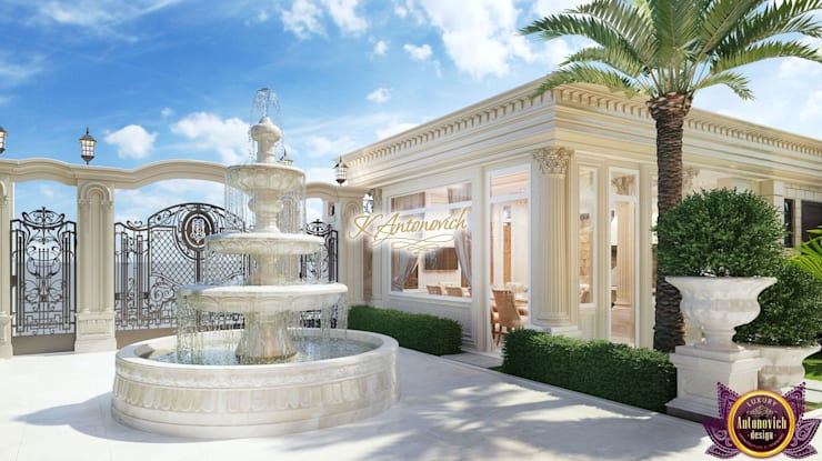 ​Architectural consultant in Dubai Katrina Antonovich:  Houses by Luxury Antonovich Design