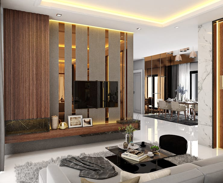 Interior landscaping by Pani design