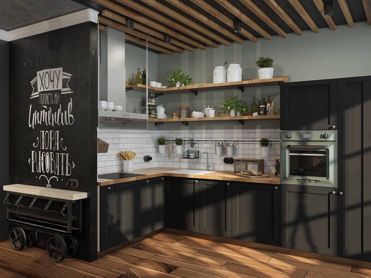 廚房 by Alyona Musina