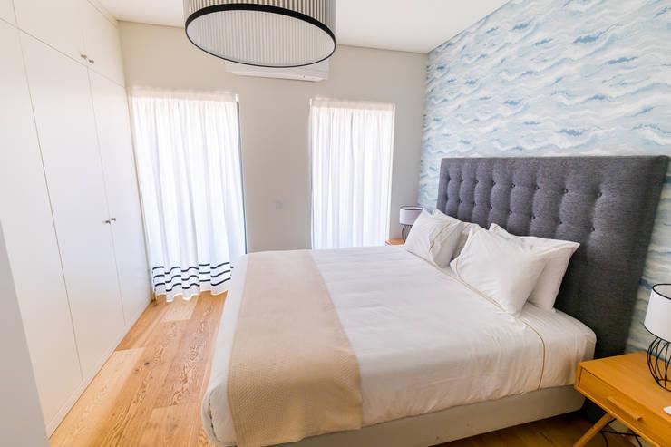Scandinavian style bedroom by Sizz Design Scandinavian