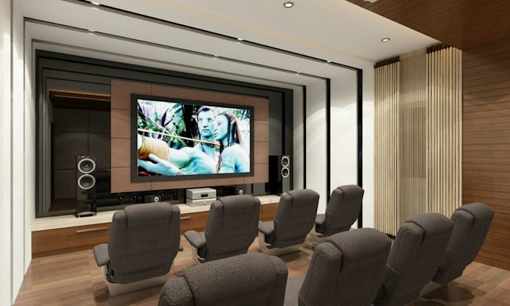 Mr. Arun reddy Home Interior Design :  Living room by Walls Asia Architects and Engineers
