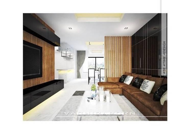 งานออกแบบตกแต่งบ้านลูกค้า คุณคิม หมู่บ้านมัณฑนา:   by betimedesign
