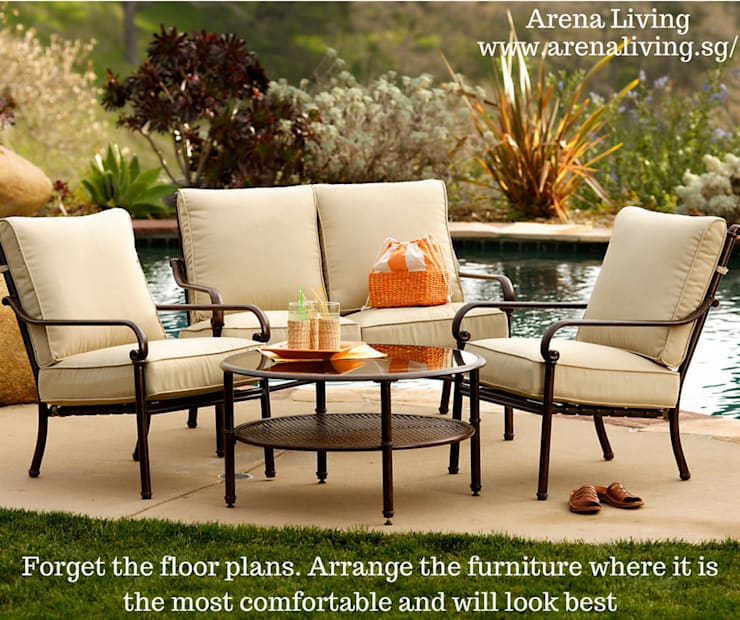 Garden Furniture Online Sale Singapore - Arena Living:  Household by Arena Living