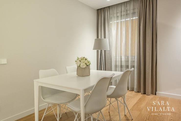 غرفة السفرة تنفيذ SV Home Staging