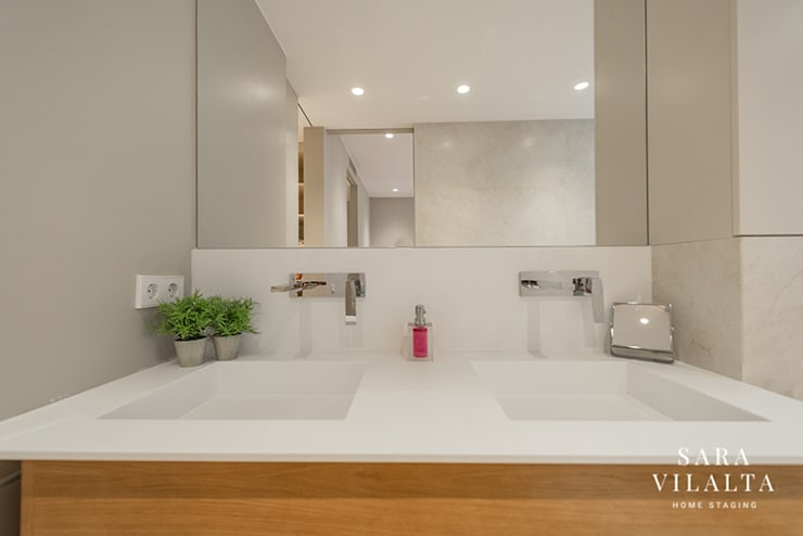 حمام تنفيذ SV Home Staging