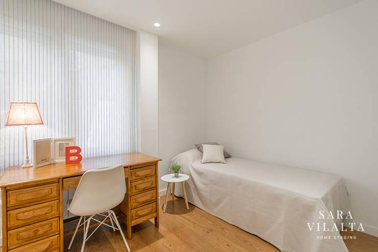 غرفة نوم بنات تنفيذ SV Home Staging