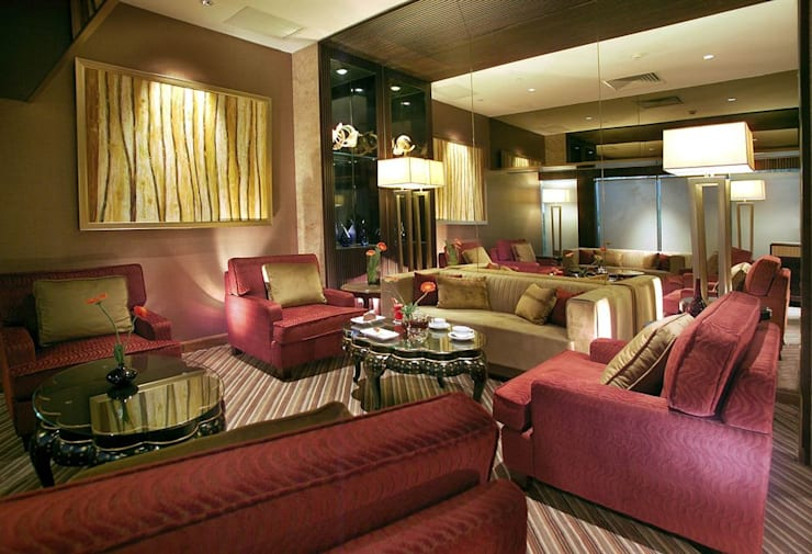 Apartment Design:  Living room by CONCEPTIONS