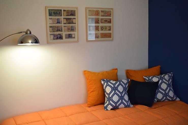 Departamento en Barrio Chateau: Dormitorios de estilo  por Da!  Diseño de  Interiores,