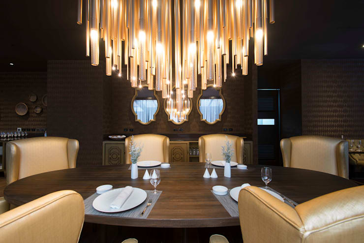 comedor : Hoteles de estilo  por Ecologik