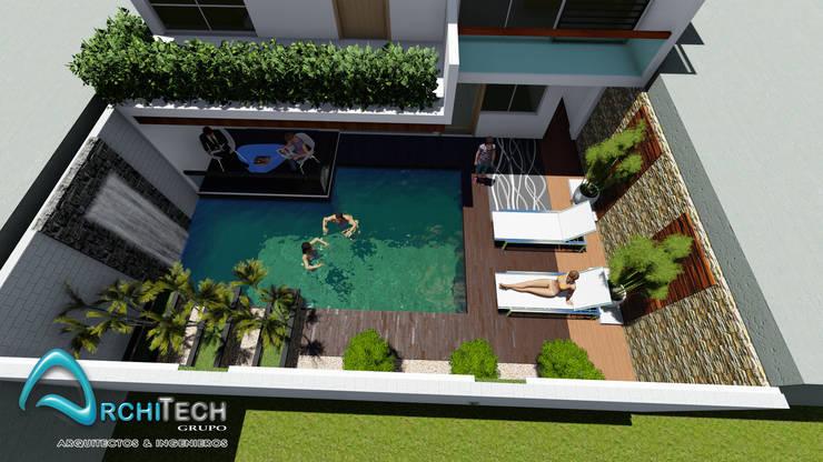 منازل تنفيذ Architech Tacna Arquitectos e Ingenieros, حداثي