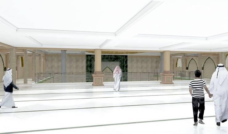 Masjid Raya Persatuan:  Lantai by Besar Studio Arsitektur