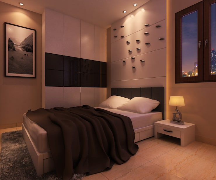 RESIDENCE PROJECT : modern Bedroom by The Design Code