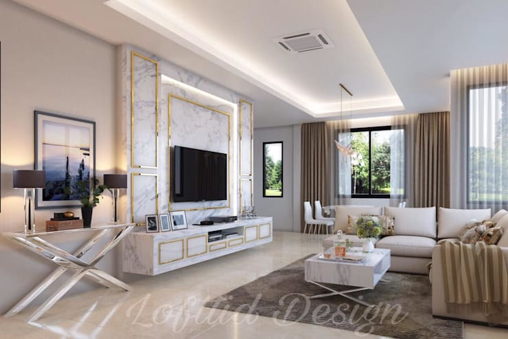 Khun Art Home @ chonburi:   by LOFTTID DESIGN