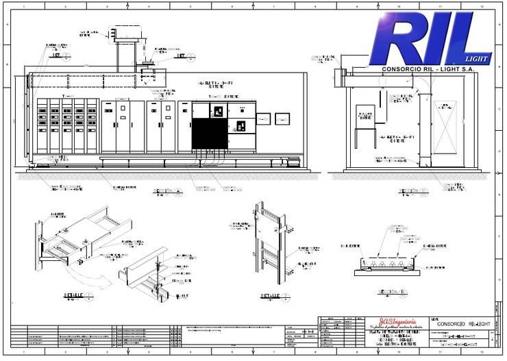 Ingeniería de detalles:   by JAS Ingenieria Limitada