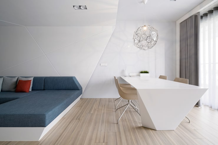 起居間及書房:   by Nestho studio