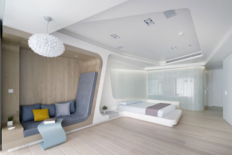 Chambre de style  par Nestho studio, Moderne