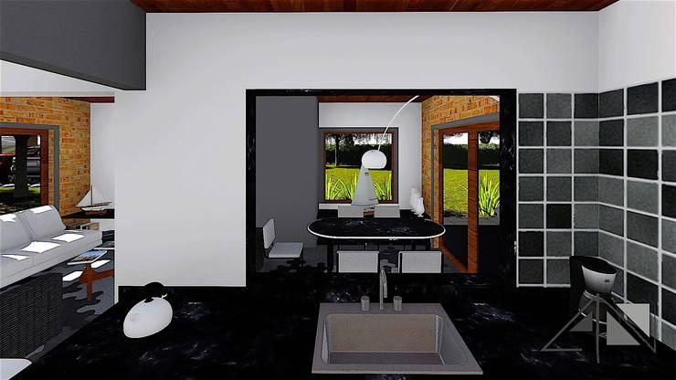 Cabaña:  de estilo  por ARQUITECTOnico