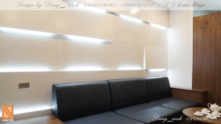 Chung cư vinaconex 16:  Tường by DD Home Design Việt Nam
