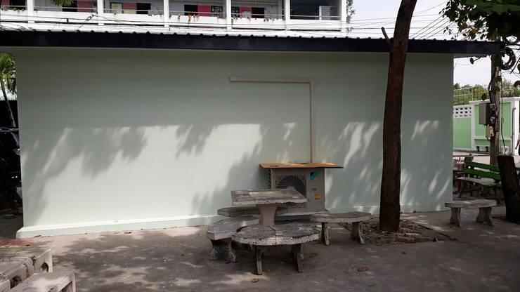 บางปูใหม่ อ.เมืองสมุทรปราการ:  บ้านและที่อยู่อาศัย by P Knockdown Style Modern