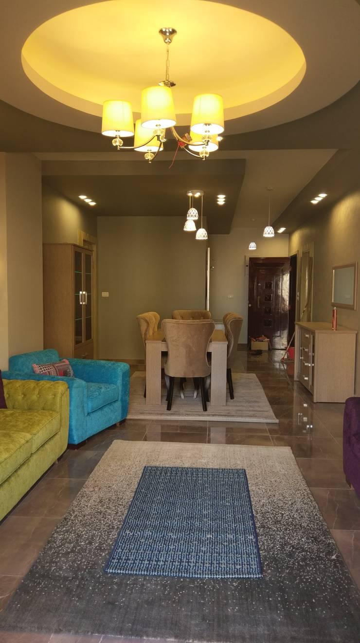 غرفه استقبال :  المنزل تنفيذ Bella villa