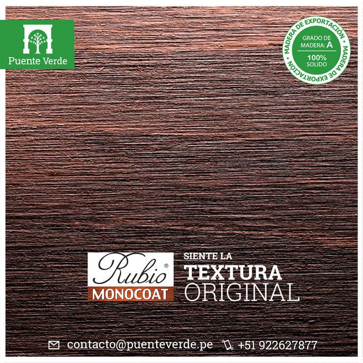 Rubio Monocoat - Protección y color para la madera en una sola capa de Puente Verde SAC