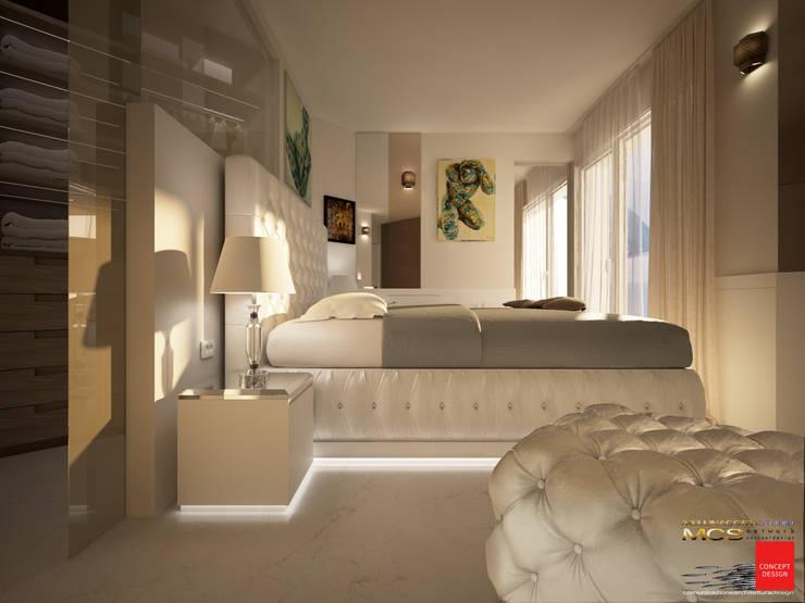 Dormitorios de estilo clásico de MELLINACORTISTUDIO