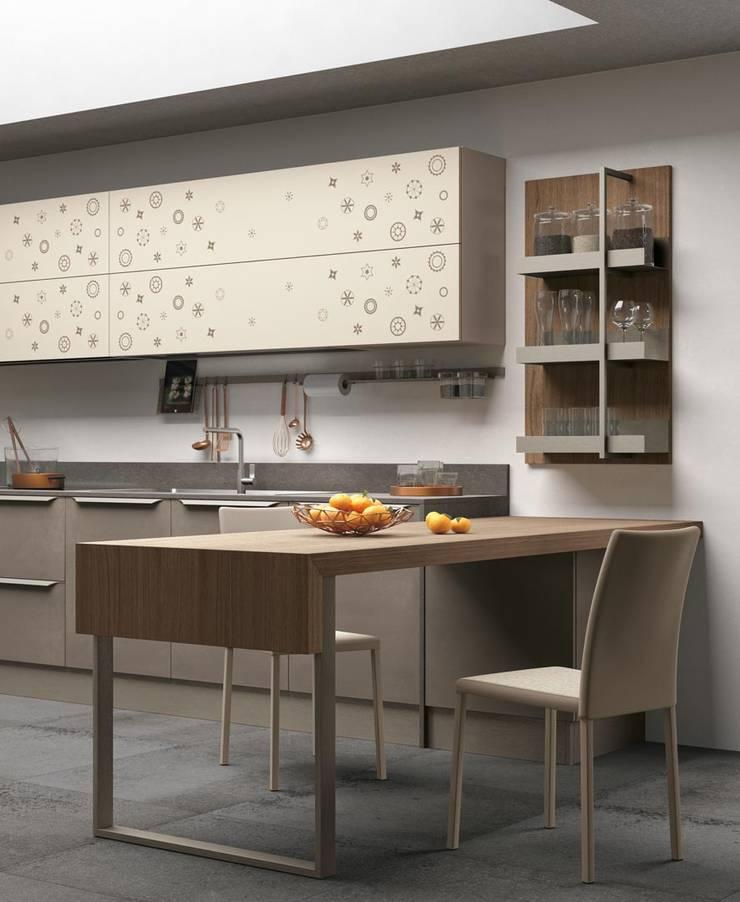 Clover bridge: Cozinha  por Area design interiores - cozinhas em Braga