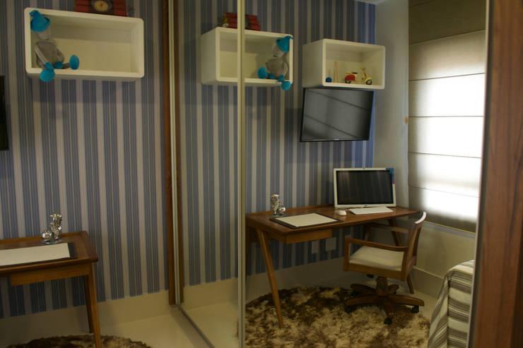 Quarto Rapaz: Quartos  por Costa Lima Arquitetura Design e Construções Ltda