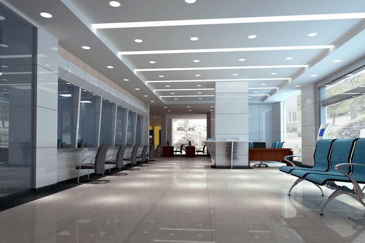Office Moderne Bürogebäude von Eminent Enterprise LLP Modern