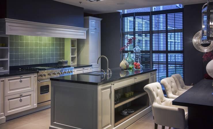 Granieten keukenblad:   door Uw Keukenblad, Landelijk Graniet